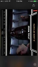 Topps Star Wars Digital Card Trader A Lack Of Faith Widevision Insert