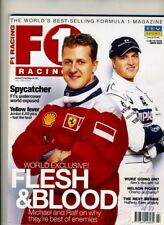 F1 RACING MAGAZINE July 2000 Schumacher Wurz Piquet Villeneuve Jordan