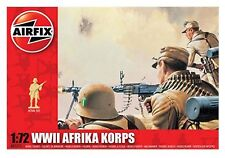 AIRFIX SCALE 1:72 TOY SOLDIERS - WWII German Afrikca Korps - A01711 - New in Box
