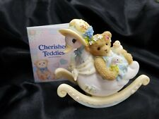"""Rare Cherished Teddies 4004814 """"Our Friendship's Down Right Comfortable"""""""