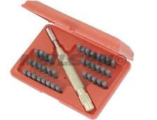 NEILSEN 38pc number letter metal punch set alpha numeric stamping AUTOMATIC tool