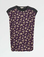 Fat Face - Women's - Elena Teatime Floral Top - Purple - Size 12 - BNWT