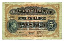 More details for east africa 5 shillings 1952 king george vi
