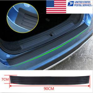 "35"" Car Truck Rear Bumper Guard Protector Trim Cover Sill Plate Pad Parts"