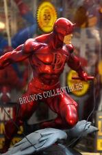 Bowen Designs Daredevil Statue Sideshow Marvel Classic Red Version on Gargoyle