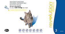 Revolution Insect Treatment For Cats, 60mg, Pack of 3