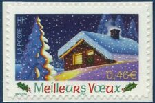 "TIMBRE FRANCE AUTOADHESIF 2002 N° 0034 NEUF**   ""Meillleurs voeux"" (3534)"