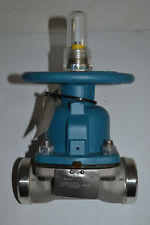 "NEW ITT Grinnell 2"" Diaphragm Weir Valve Stainless Steel 2-2466-M-903 Butt Weld"