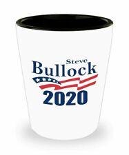Steve Bullock 2020 Shot Glass - Steve Bullock Supporter Gifts Idea - Funny...