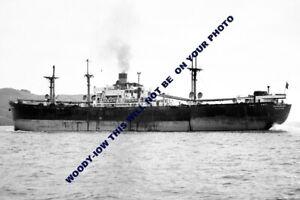 mc0213 - Bank Line Cargo Ship - Rowanbank - photograph 6x4