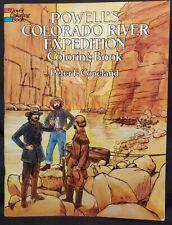Dover Coloring Book, Powell's Colorado River Expedition