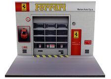 Diorama présentoir Ferrari - Mariani Auto S.p.a. - 1/32ème - #32-2-B-B-002