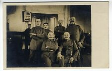 Foto AK Post Kaiserliches Telegraphenamt Stempel  Uniform Säbel