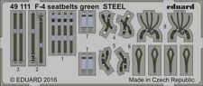 Eduard Accessories 49111 - 1:48 F-4 Seatbelts Green Steel - Ätzsatz - Neu