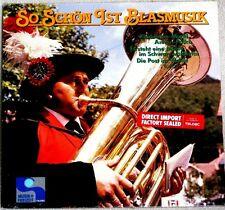 Ernst Mosch et al So Schon Ist Blasmusik 1984 Teldec Recs # 6.25813 Sealed LP
