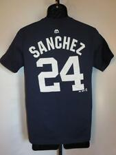 New-Minor Flaw- Gary Sánchez #24 New York Yankees Youth Large (L 14/16) Shirt