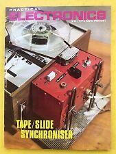 PRACTICAL ELECTRONICS - Magazine - February 1971 - Tape / Slide Synchroniser