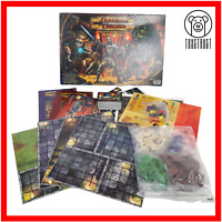 Dungeon & Dragons Board Game The Fantasy Adventure Fun Age 10+ 2003 by Parker