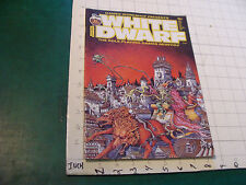 vintage HIGH GRADE Unread Magazine: WHITE DWARF #84, 64 pages