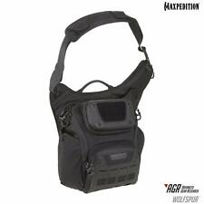 Maxpedition Wolfspur Crossbody Shoulder Bag Black Tactical Military Organize