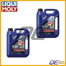 10 Liters Liqui Moly Premium Fully Synthetic 5W40 Engine Motor Oil for Mercedes