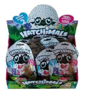 Hatchimals COLLEGGTIBLES Set of 5 Season 2 Blind Bags Find Golden One Mini Eggs