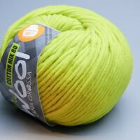 Lana Grossa McWool Cotton Mix 80 - 519 wild lime 50g Wolle (5.90 EUR pro 100 g)