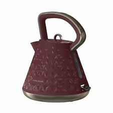 Morphy Richards Prism 1.5 Litre 3kW Kettle In Merlot Red 108103