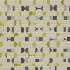 Momentum Essay Aspen gray ,olive ,charcoal , modern shapes Upholstery Fabric