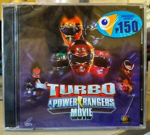 Turbo A Power Rangers Movie VCD Video CD Viva Video Filipino Philippines Release