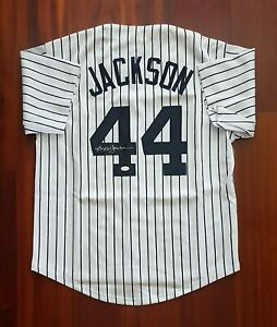 Reggie Jackson Autographed Signed Jersey New York Yankees JSA