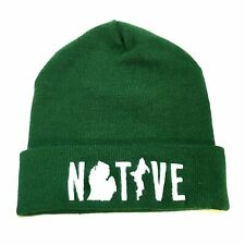 Hat - Michigan NATIVE Flip Knit - Green