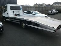 2012 IVECO DAILY CAR TRANSPORTER AUTOMATIC LWB WITH TACHOMETER READY TO WORK