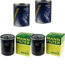 2x Original MANN Ölfilter W 610/9 + 2x SCT Motor Flush Motorspülung