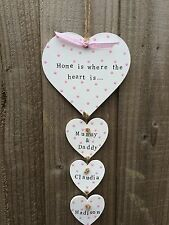 Personalised Plaque Sign House Warming New Home Family Christmas Present Gift