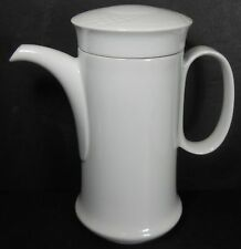 HUTSCHENREUTHER Bavaria BIANCA Scala pattern Coffee Pot & Lid