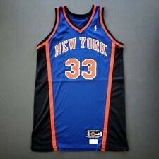 "100% Authentic Patrick Ewing 99 00 New York Knicks Game Issued Jersey 50+4"" Mens"