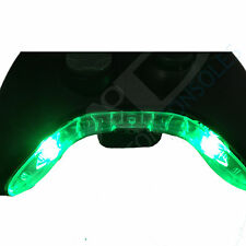 XBOX 360 Pre-Wired CONTROLLER comando modifica / MIC Pezzo LED MOD (verde)