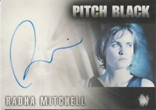 Radhia Mitchell Rittenhouse Pitch Black autograph auto card