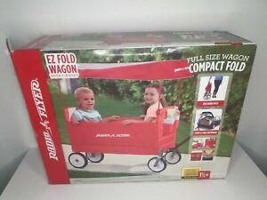 Radio Flyer 3957A EZ Fold Wagon with Canopy Please See Item Description