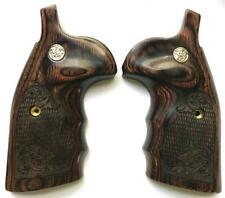 Smith & Wesson S&W K/L/X Frame Grips Round Butt to Square Walnut Scroll Design