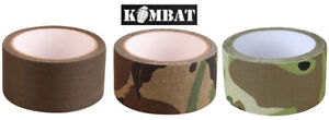 Kombat Army Military Sniper Camo Camouflage Fabric Adhesive Stealth Combat Tape
