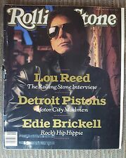Lou Reed detroit Pistons  Rolling Stone Magazine  Issue #553 May 4th, 1989