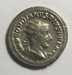 GORDIAN III AD 238-244 Silver Antoninianus / Hercules  ROME Mint