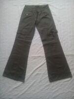 Pantalon évasé Boot-Cut multi-poches taille 36