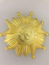 France/French Legion of Honour Award Grand Cross Star in gilt