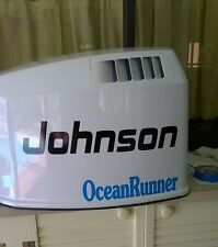 Johnson  V6 Ocean Runner Reproduction Marine Vinyl Decals