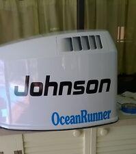 Johnson  V6 Ocean Runner Reproduction Marine Vinyl Decals