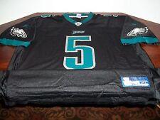 USED - NFL - PHILADELPHIA EAGLES - #5 MCNABB - BLACK JERSEY - REEBOK - XL