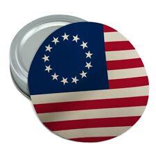 Betsy Ross 1776 American Flag Round Rubber Non-Slip Jar Gripper Lid Opener